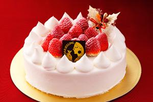 ダージリン・苺のデコレーションケーキ